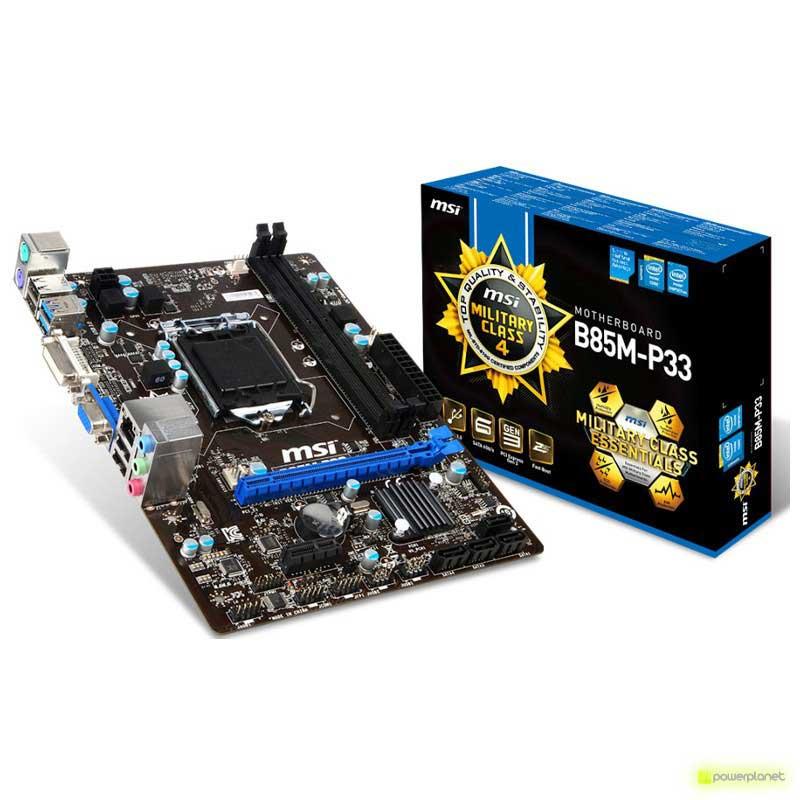 MSI B85M-P33 motherboard