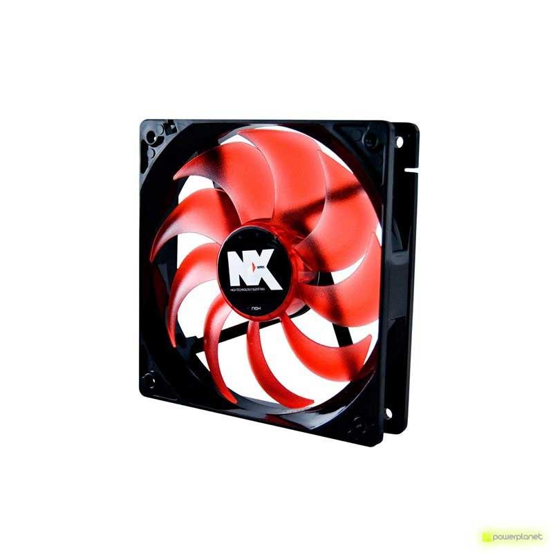 Ventilador caja NOX Serie NX 8cm Rojo