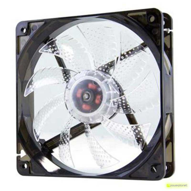 Ventilador Caja NOX CoolFan 12cm LED Blanco - Item