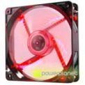 Ventilador Caja NOX Cool Fan 12cm LED Rojo