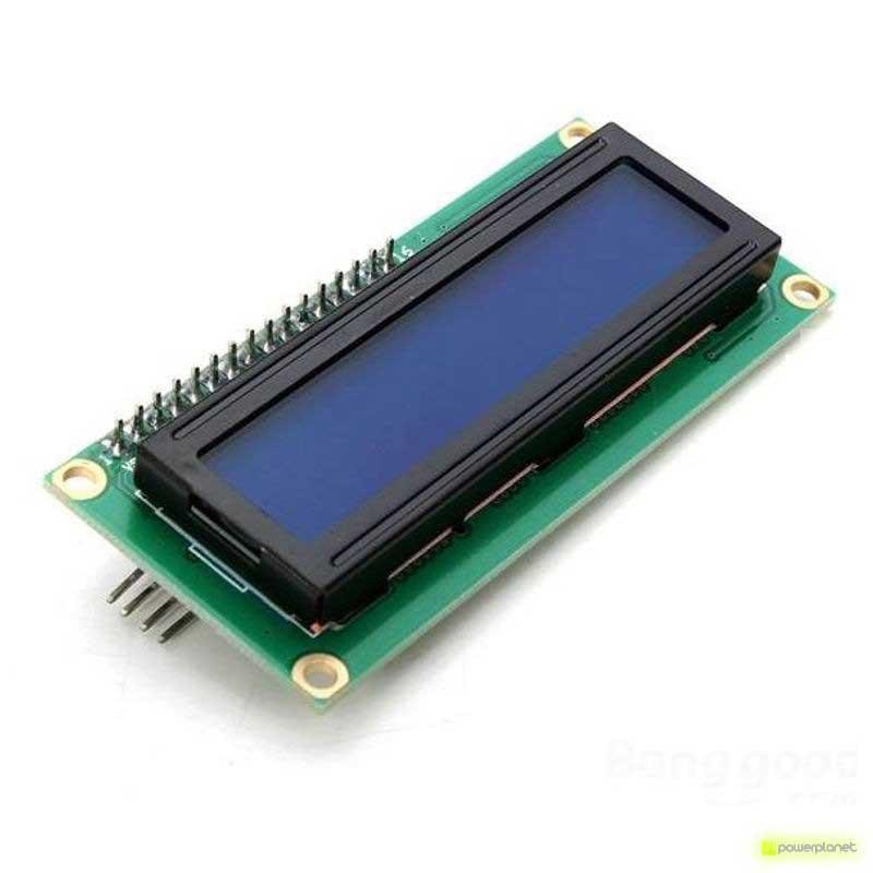 Pantalla LCD 1602 con retroiluminación para Arduino