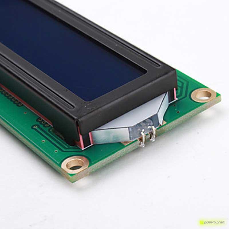 Pantalla LCD 1602 con retroiluminación para Arduino - Ítem4