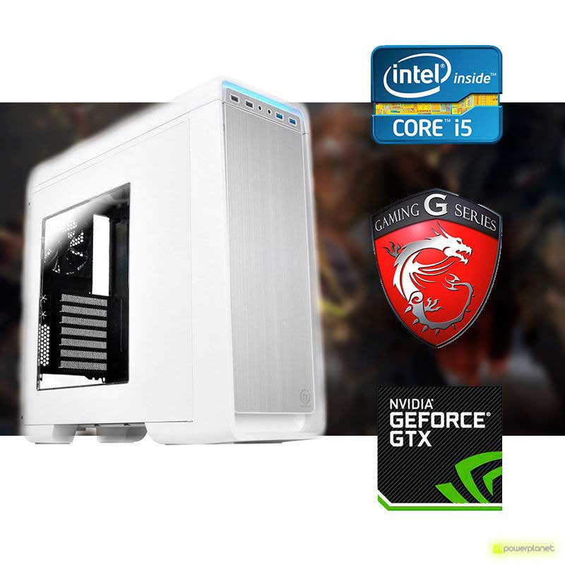 PC Gaming White Rhogar