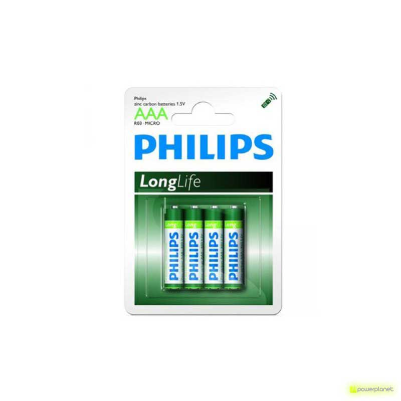 Batterie Philips Longlife R03 Micro AAA