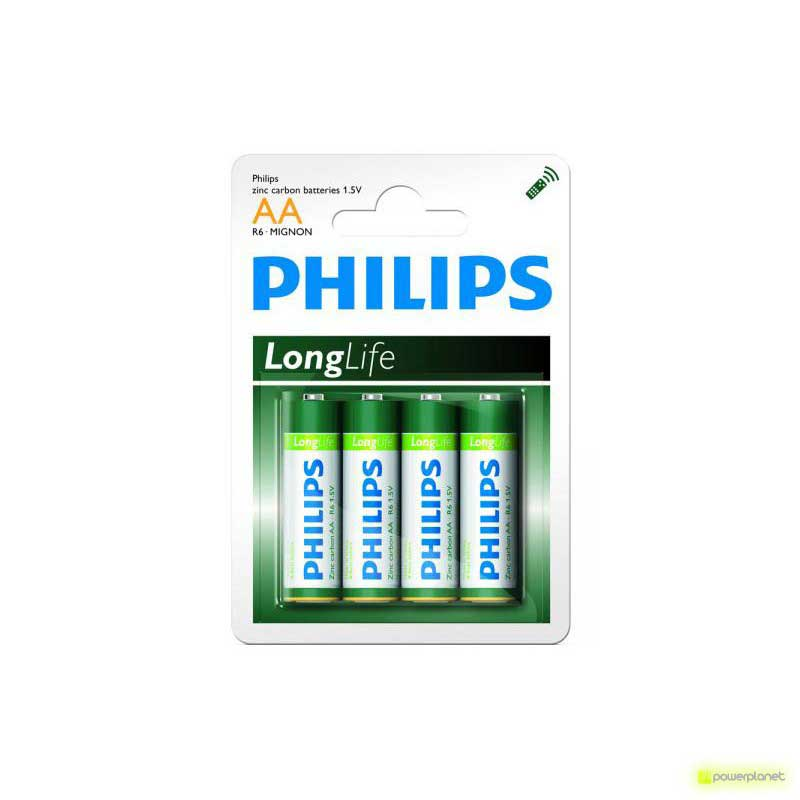 Batterie Philips Longlife R06 Mignon AA
