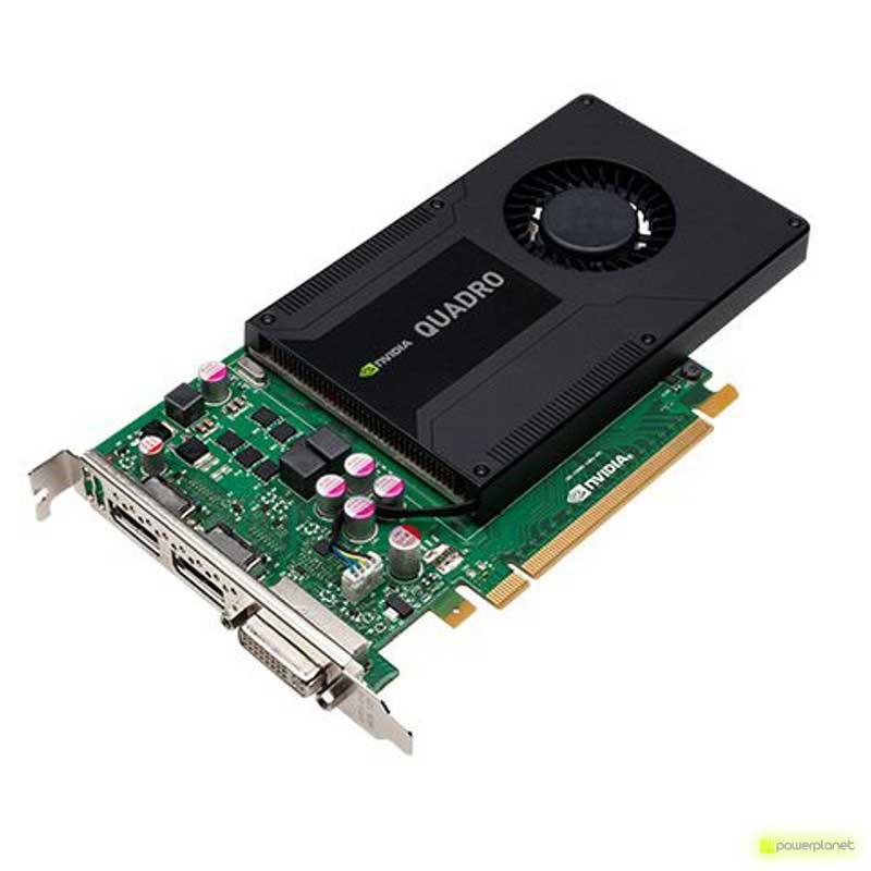cartão gráfico PNY NVIDIA Quadro K2000 2GB