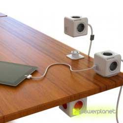 PowerCube Extended 5 tomas - Cable 3m - Ítem3
