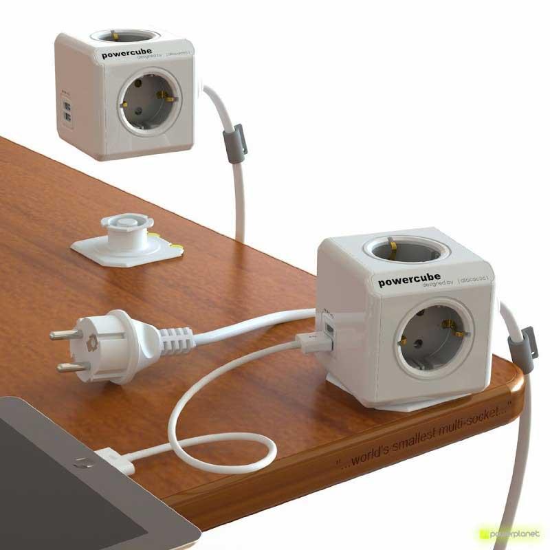 PowerCube Extended USB 4 saídas + 2 portos USB + Cabo 1.5m - Item1