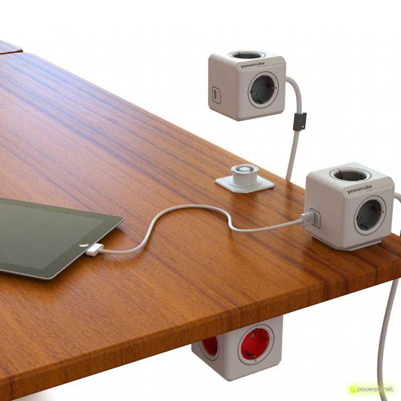 PowerCube Extended USB 4 saídas + 2 portos USB + Cabo 1.5m - Item2