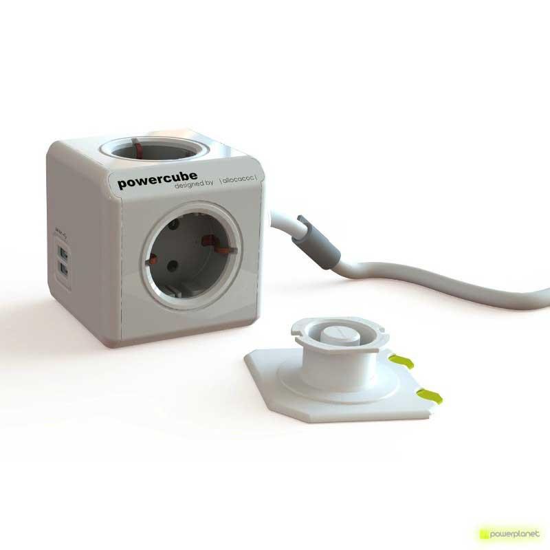 PowerCube Extended USB 4 saídas + 2 portos USB + Cabo 3m - Item1