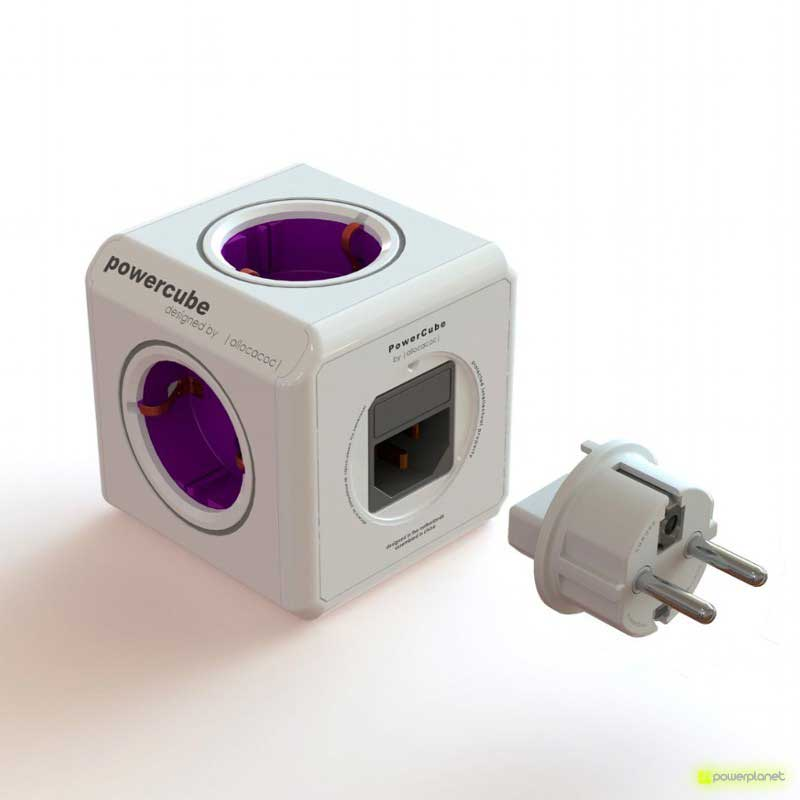 PowerCube ReWirable 5 tomas + 4 adaptadores de corriente