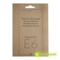Protector de Pantalla BQ Aquaris E6 cristal templado fotos - Ítem1