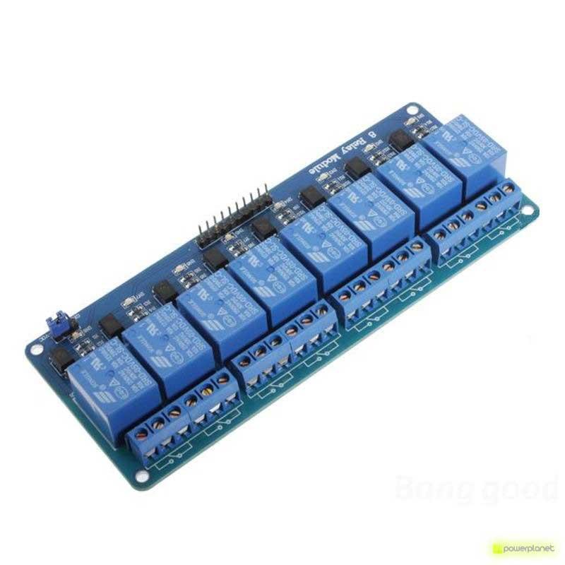 Placa módulo relés para Arduino