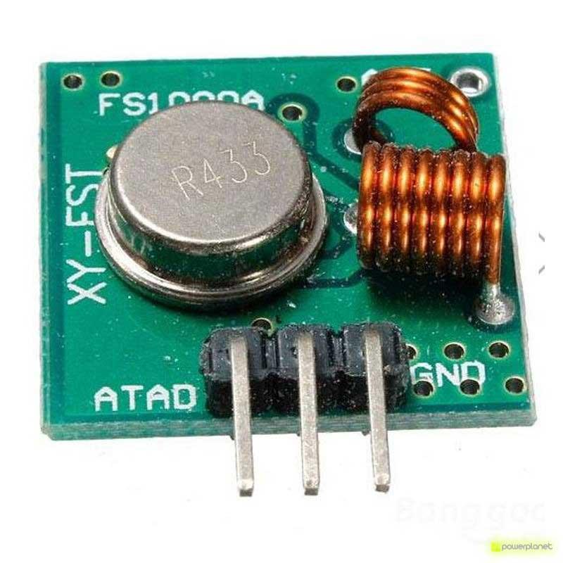 Módulo inalámbrico RF 433MHz Emisor - Receptor - Ítem2