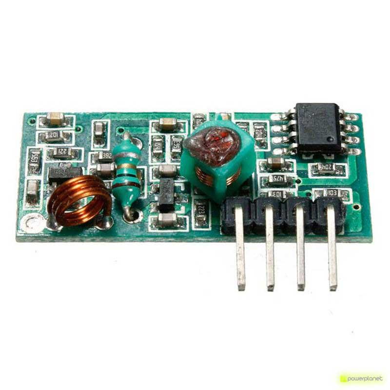 Módulo inalámbrico RF 433MHz Emisor - Receptor - Ítem3