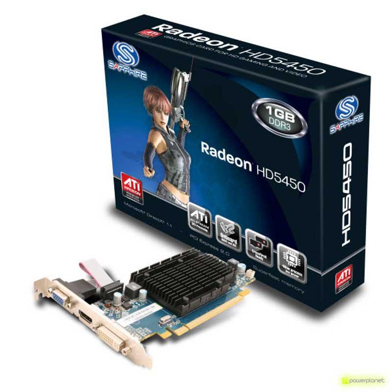 Sapphire Radeon HD5450 1GB DDR3