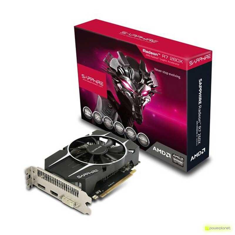 Sapphire Radeon R7 260X 1GB GDDR5 OC