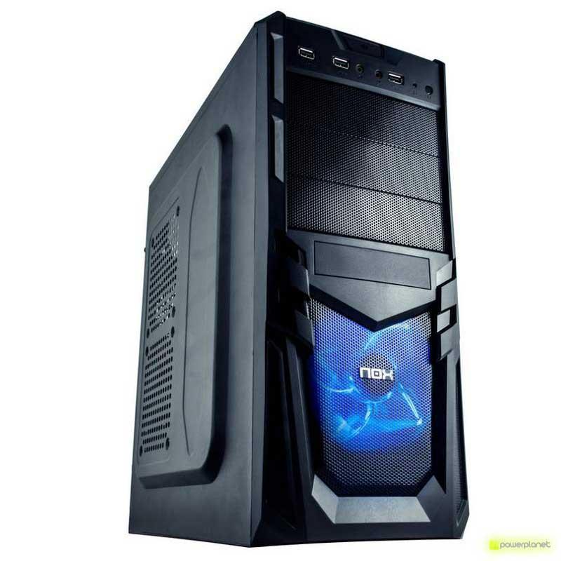 Semitorre ATX NOX VULKAN Negra USB 3.0