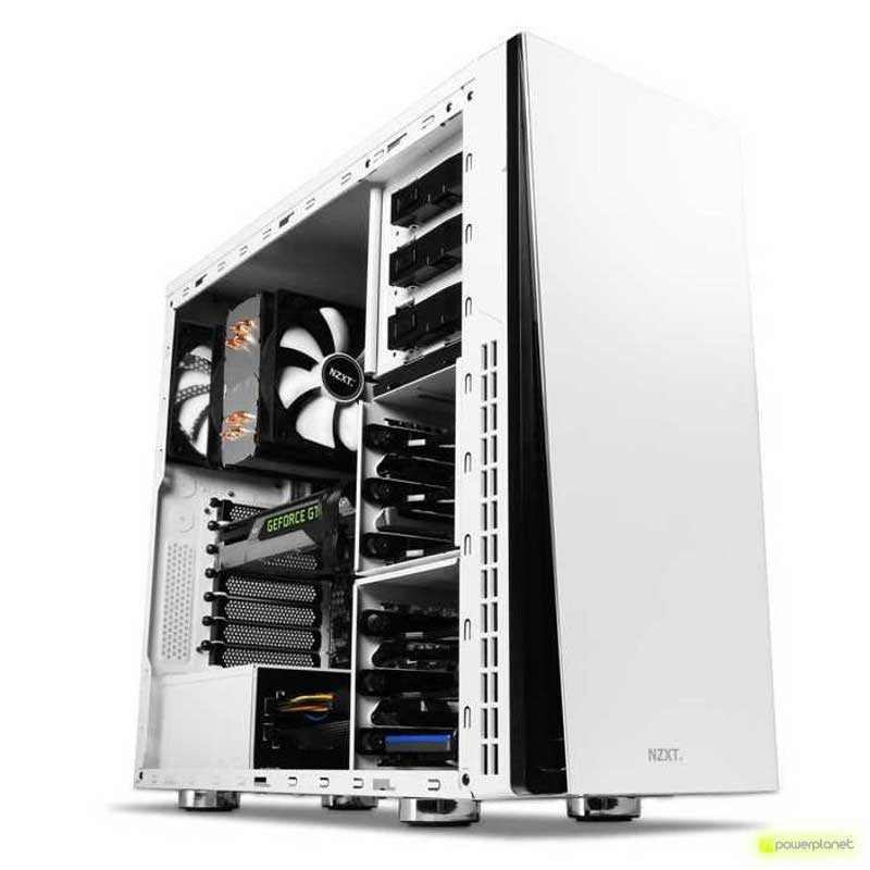 Semitorre ATX NZXT Silent H230 Edición Blanca