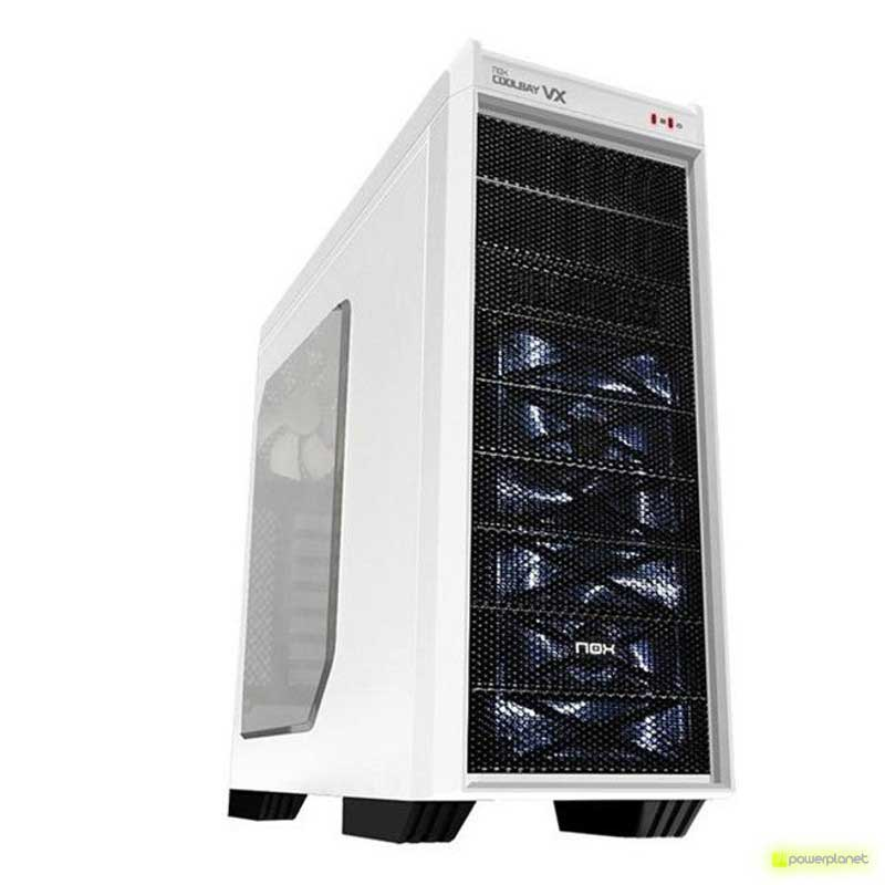 Semitorre ATX NOX Coolbay VX Zero Edition