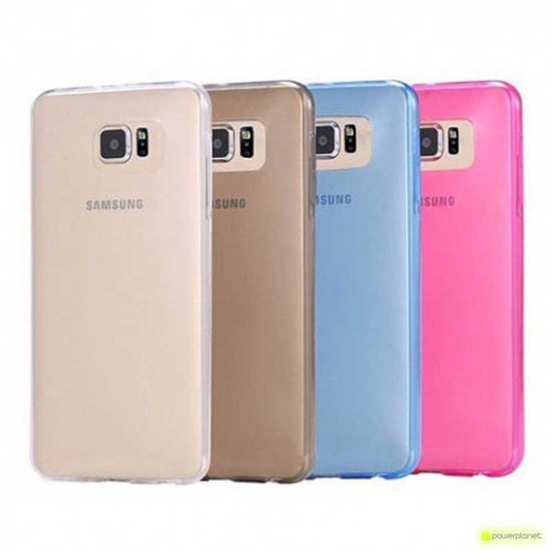 Capa de Silicone Samsung Galaxy S6 Edge