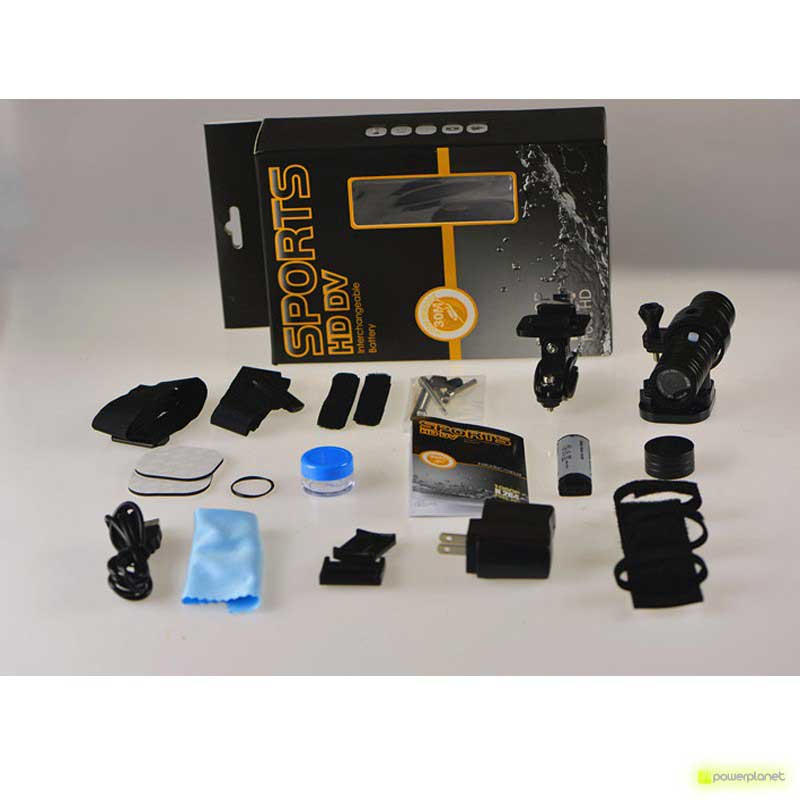Video Câmera deportiva SJ2000 - Câmera barata - Item5