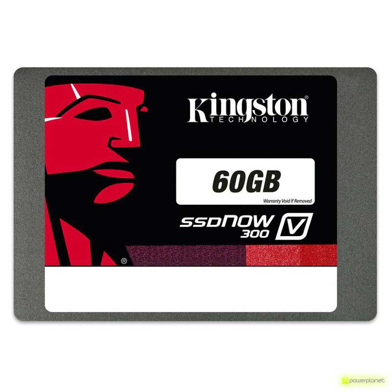 DISCO RIGIDO SSD Kingston SSDNow V300 60GB SATA3 - Item
