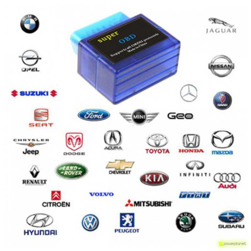 Super Mini Bluetooth OBD Carro Análise Diagnóstica - Item3