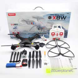 QuadCopter Syma X8W - Item1