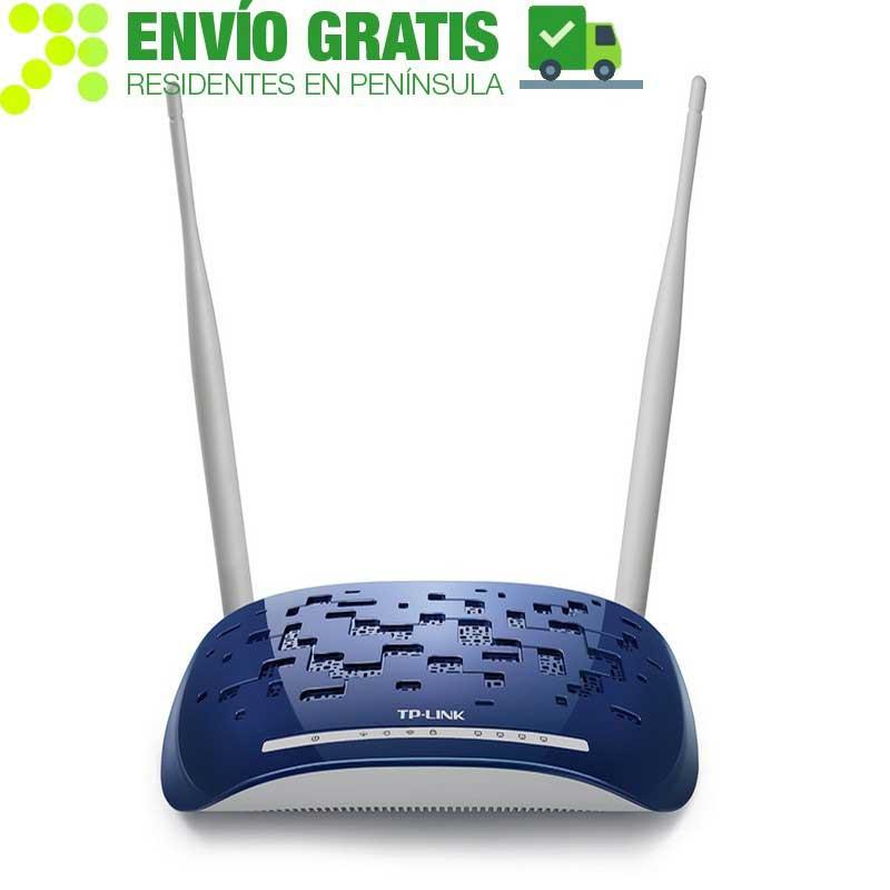 TP-LINK TD-W8960N Modem Router ADSL2 + Inalámbrico N a 300Mbps