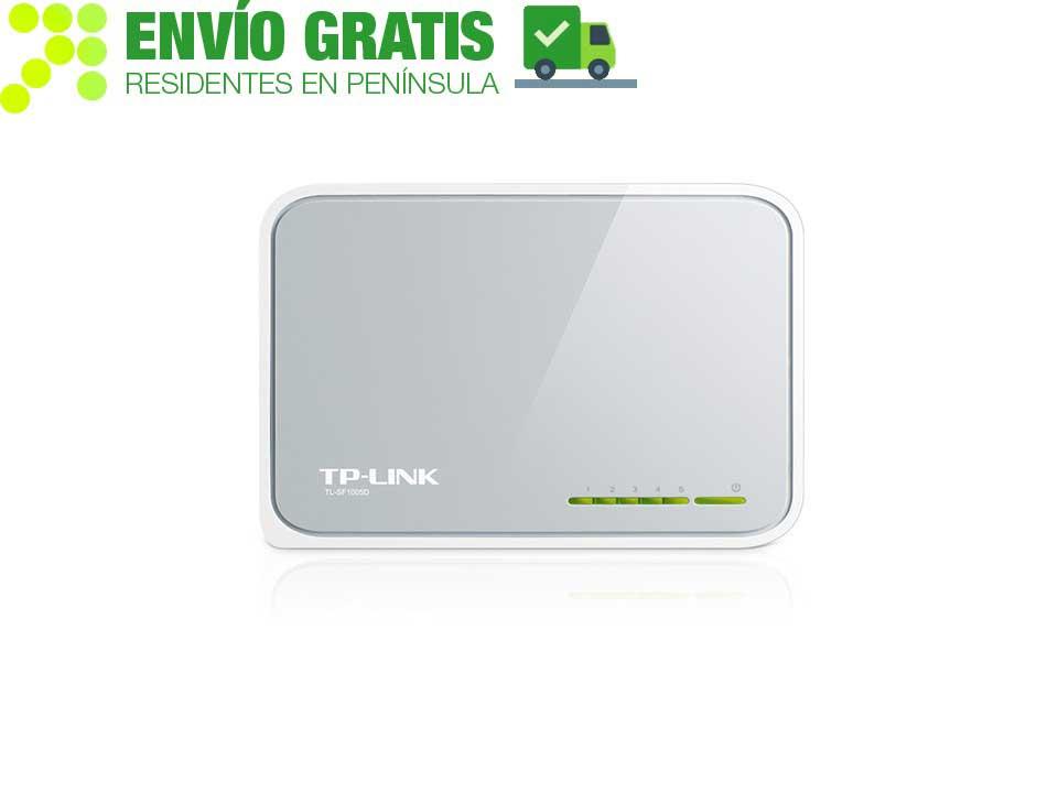 TP-Link TL-SF1005D for Desktop Switch 5-port 10/100 Mbps