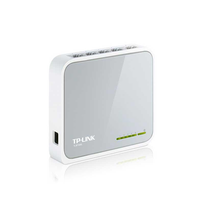 TP-LINK TL-SF1005D Switch de sobremesa con 5 puertos a 10/100 Mbps - Ítem1