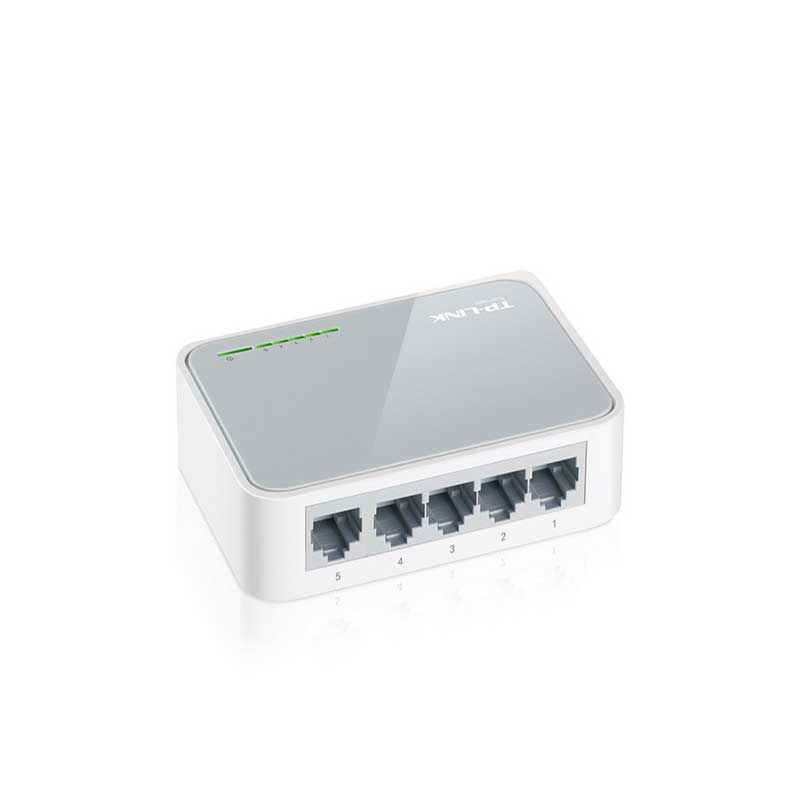 TP-Link TL-SF1005D for Desktop Switch 5-port 10/100 Mbps - Item3