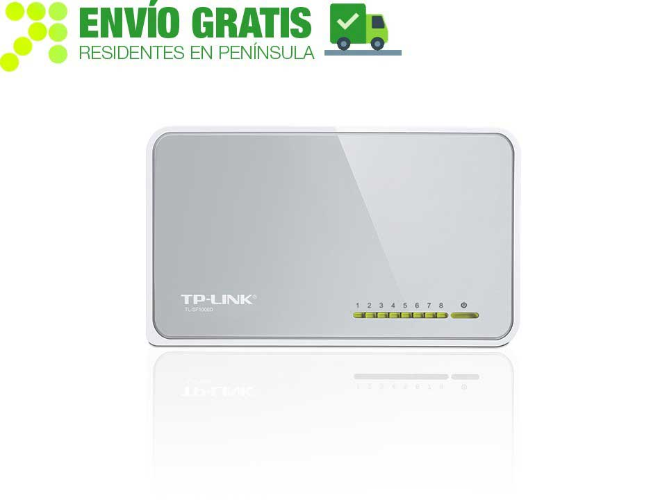 TP-Link TL-SF1008D Desktop Switch with 8 ports 10/100 Mbps