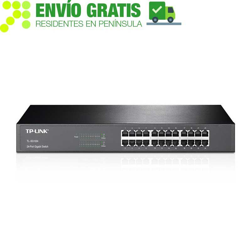 TP-LINK TL-SG1024 Switch con 24 puertos Gigabit
