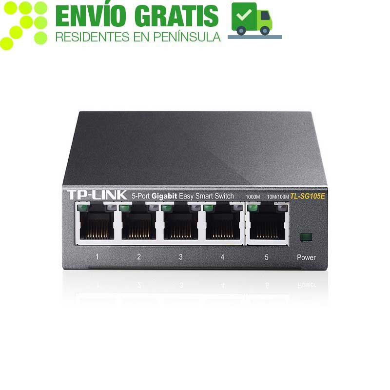 TP-LINK TL-SG105E Switch Easy Smart de 5 puertos Gigabit