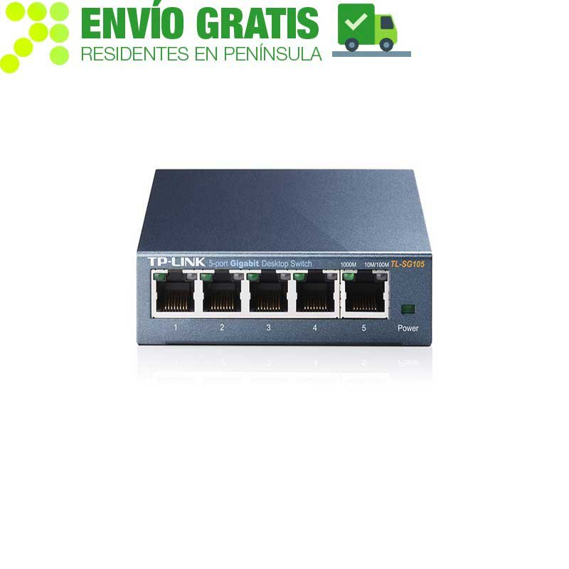 TP-Link TL-SG105 for Desktop Switch 5-port 10/100/1000 Mbps - Item