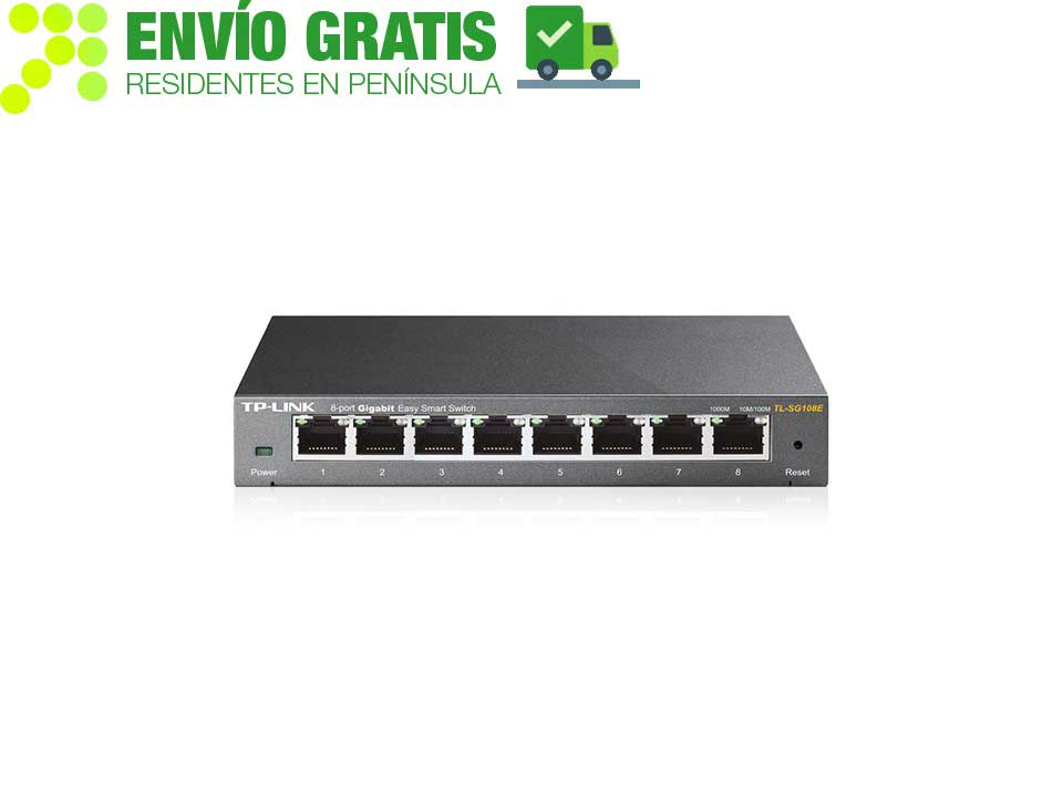 TP-Link TL-SG108E Easy Smart Switch 8 Gigabit ports - Item