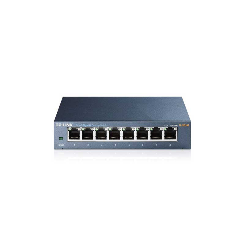 TP-Link TL-SG108 Desktop Switch with 8 ports 10/100/1000 Mbps - Item3
