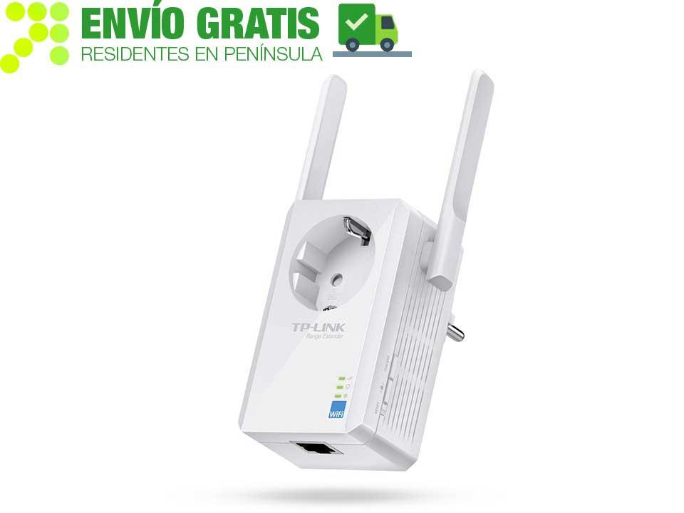 TP-LINK TL-WA860RE Extensor de Cobertura Wi-Fi a 300 Mbps con Enchufe Incorporado