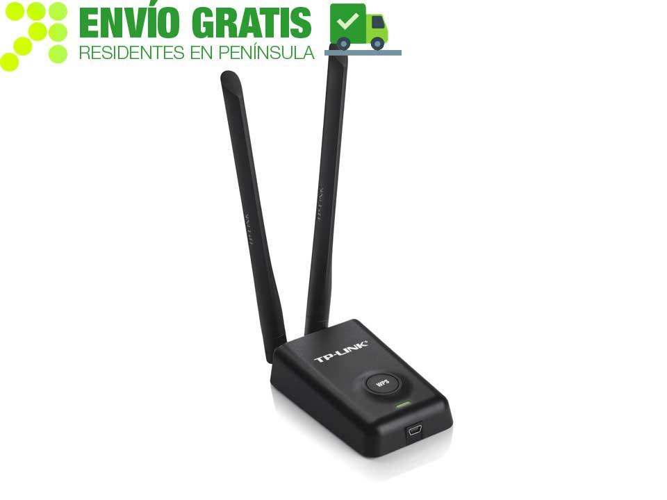 TP-LINK TL-WN8200ND Adaptador USB Inalámbrico de Alta Potencia a 300Mbps