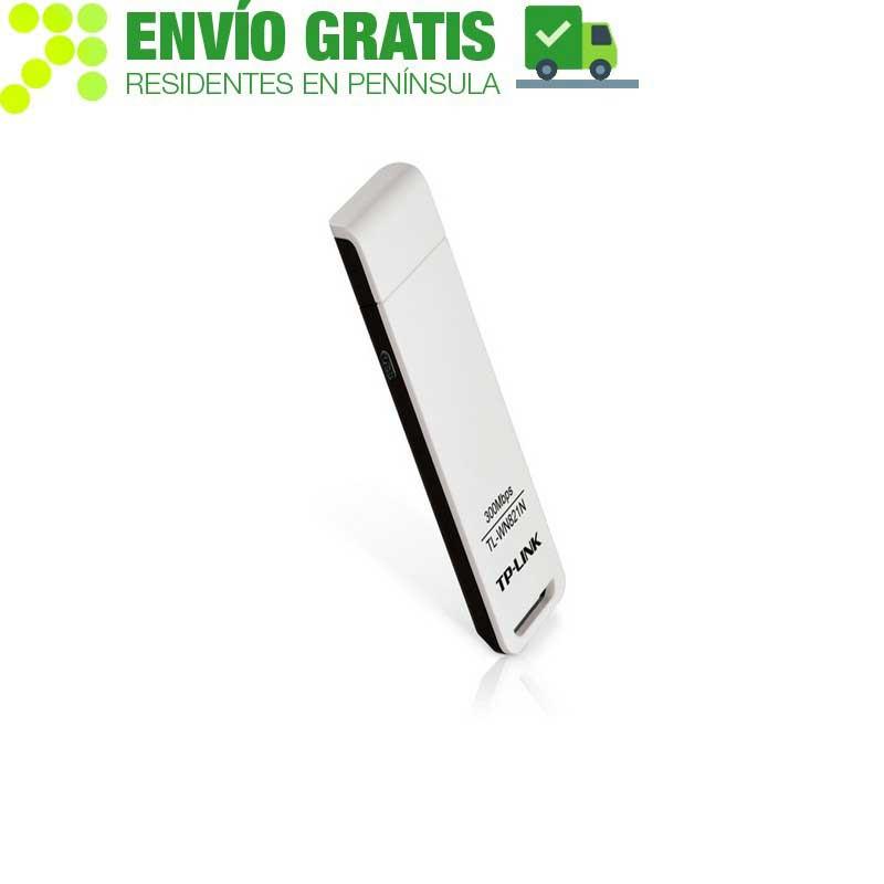 TP-LINK TL-WN821N Adaptador Inalámbrico USB N a 300Mbps