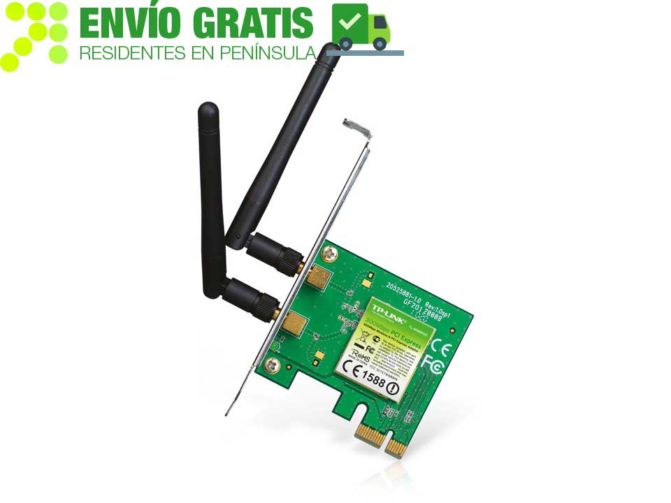 TP-LINK TL-WN881ND Adaptador PCI Express inalámbrico N a 300 Mbps