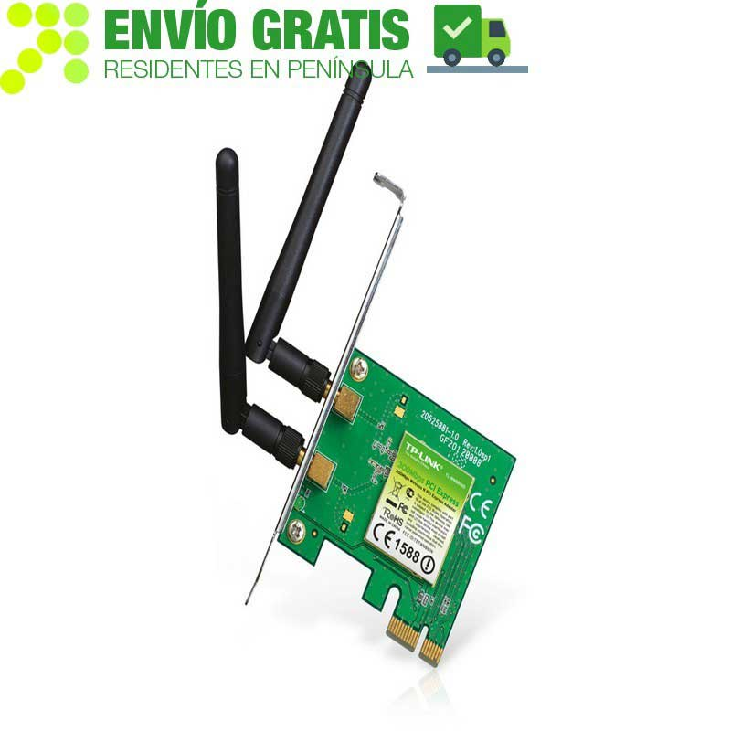 TP-Link TL-WN881ND Adapter PCI Express Wireless N 300Mbps - Item