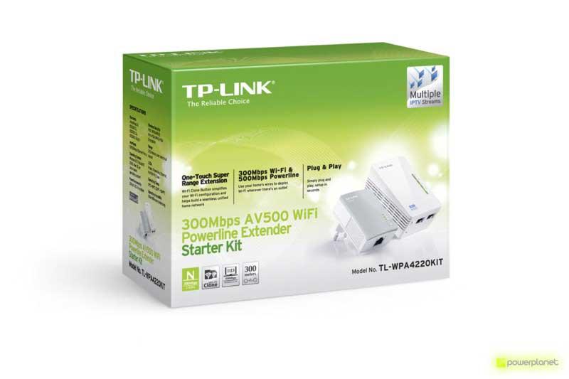 TP-LINK TL-WPA4220 Extensor Powerline WiFi AV500 a 300 Mbps - Ítem7