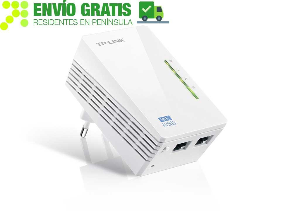 TP-LINK TL-WPA4220 Extensor Powerline WiFi AV500 a 300 Mbps