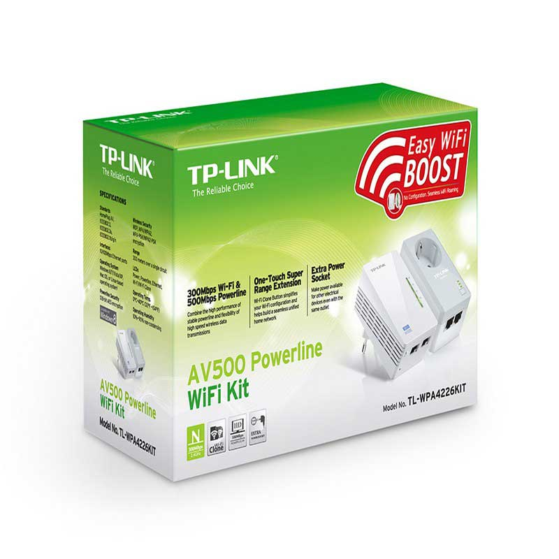TP-Link TL-WPA4226KIT WiFi Extender Kit Powerline AV500 - Item1