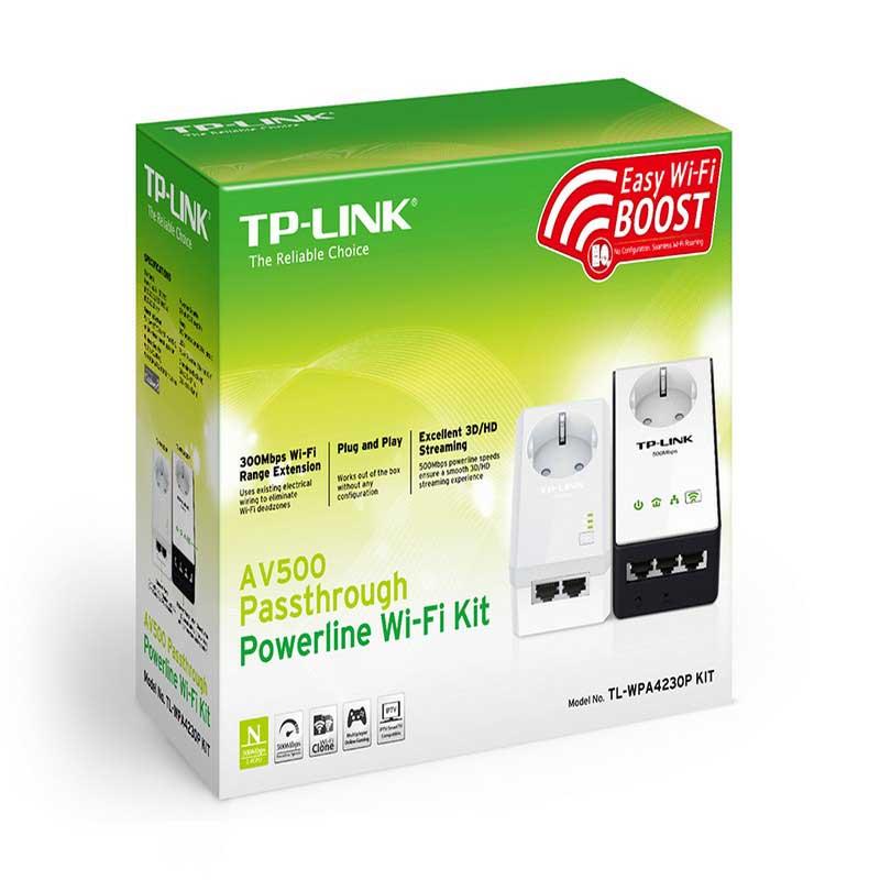 TP-Link TL-WPA4230P KIT WiFi AV500 Powerline Extender Kit - Item1