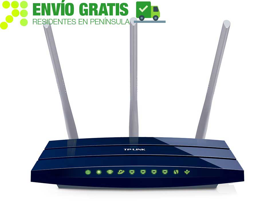 TP-LINK TL-WR1043ND Router Gigabit Inalámbrico N a 450Mbps