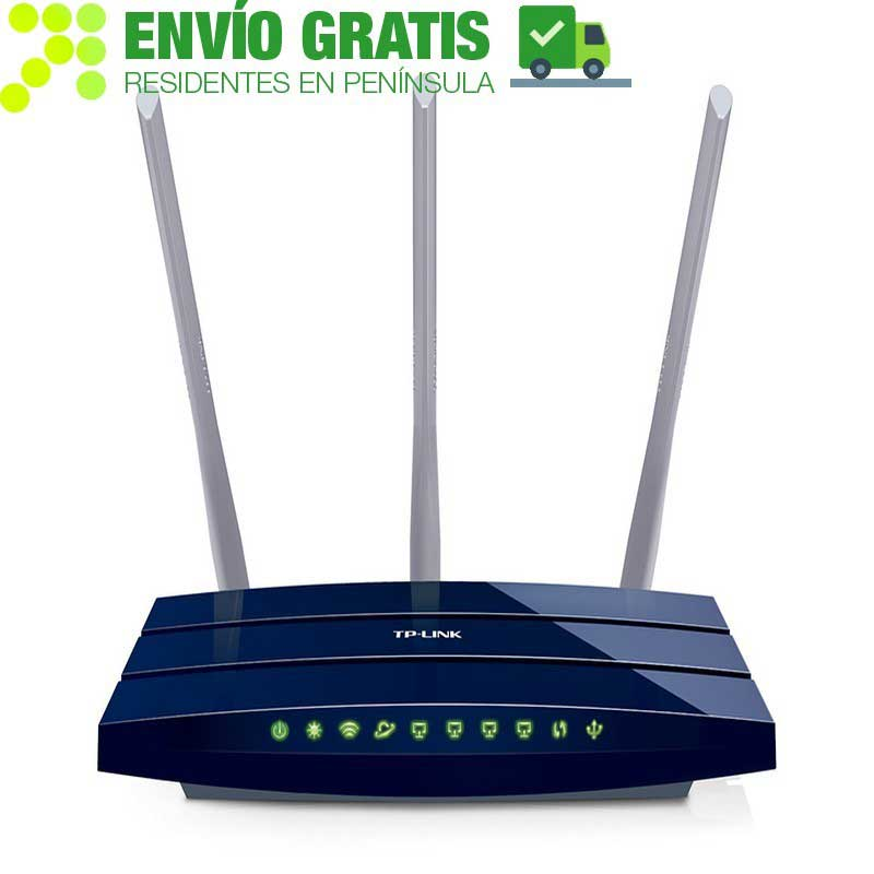 TP-Link TL-WR1043ND Wireless N Gigabit Router 450Mbps